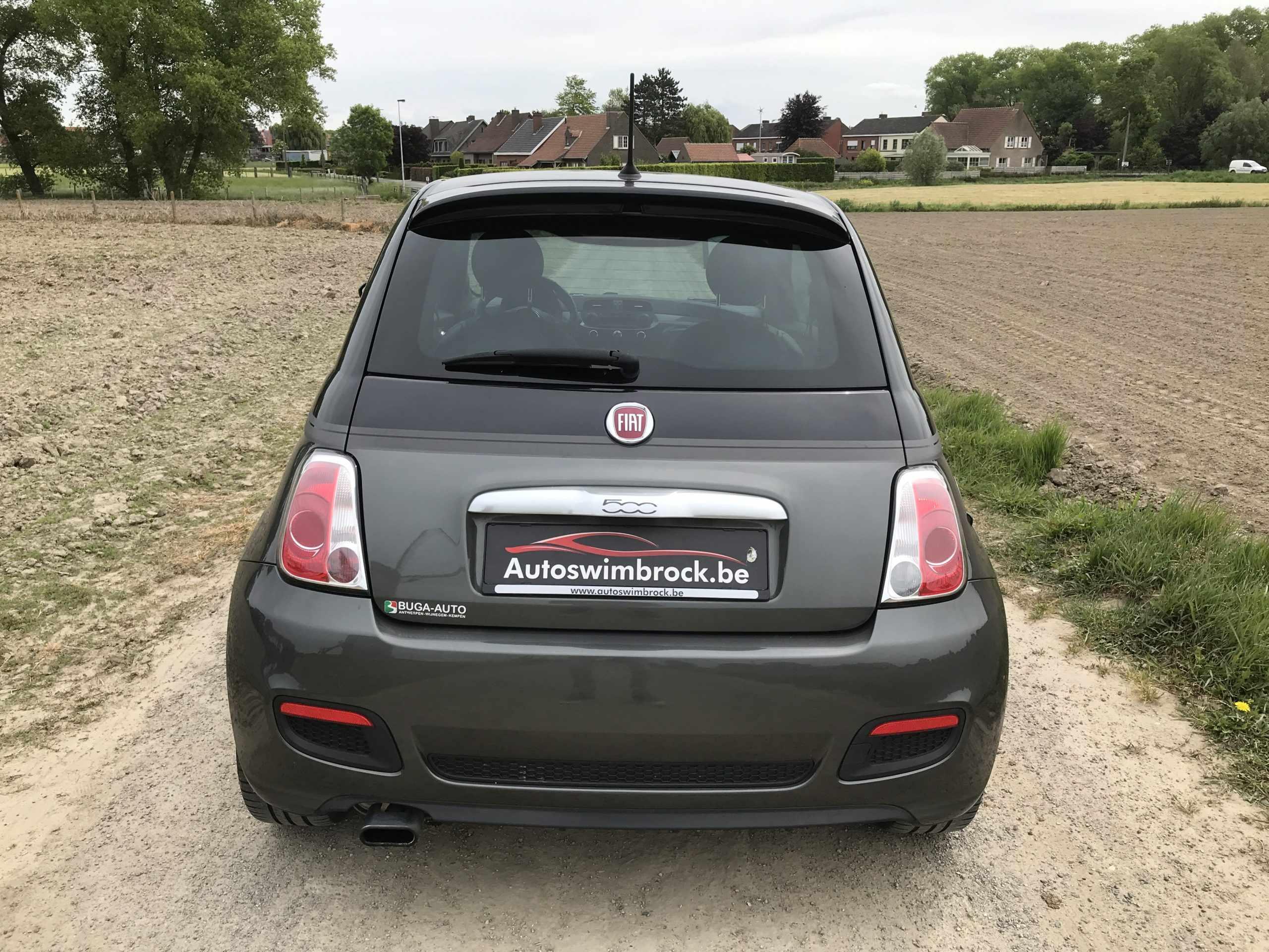 Fiat 500 GQ leder alu garantie!!