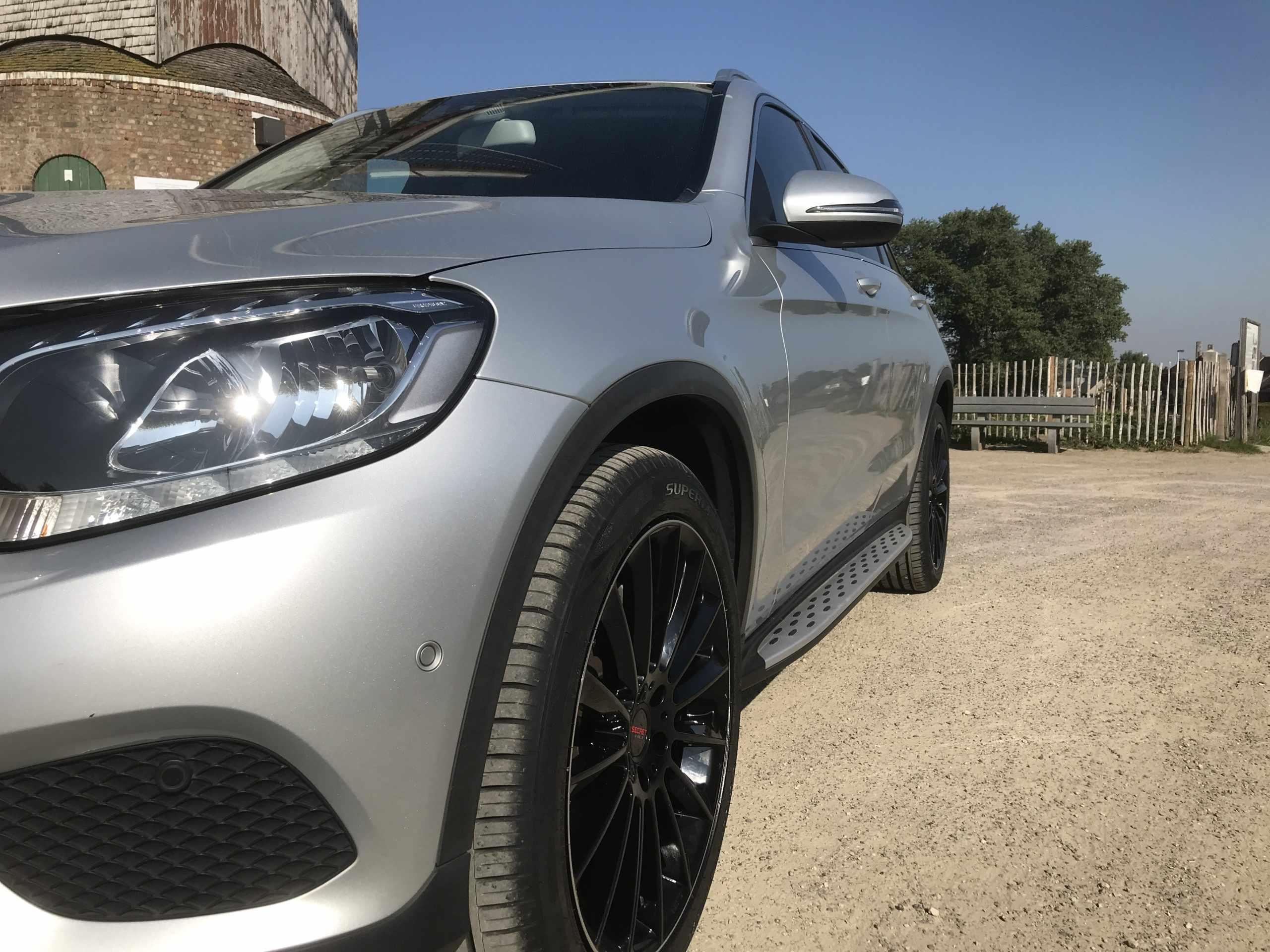 Mercedes glc 250 cdi Amg look!!