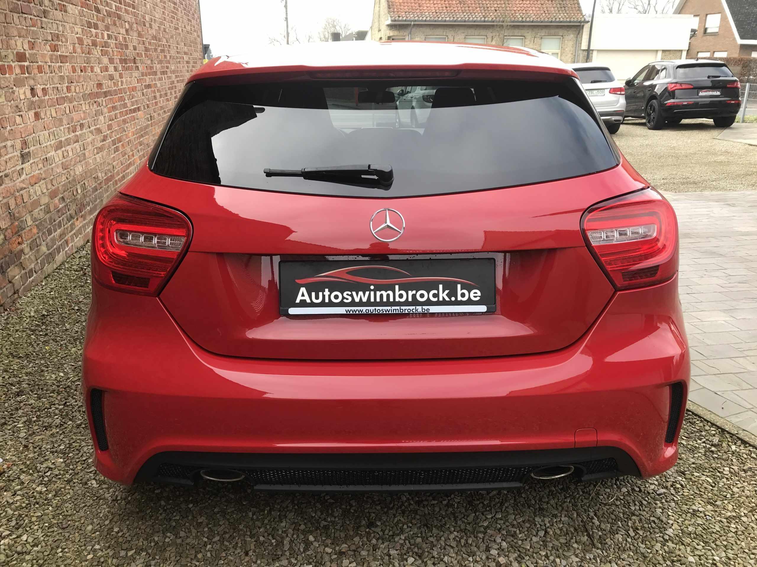 Mercedes A160cdi AMG-pakket