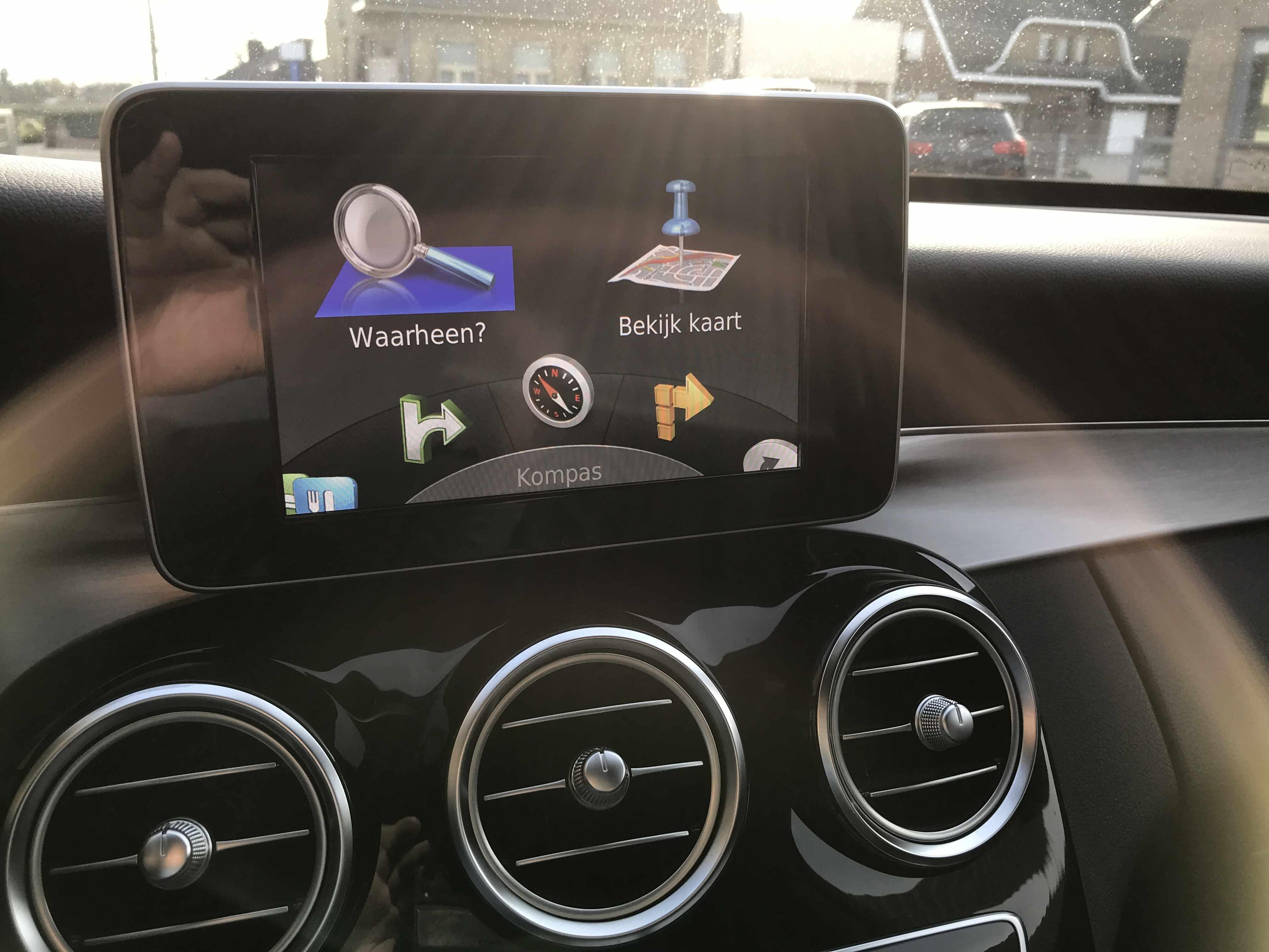 Mercedes c-klasse automaat AMG-look!!
