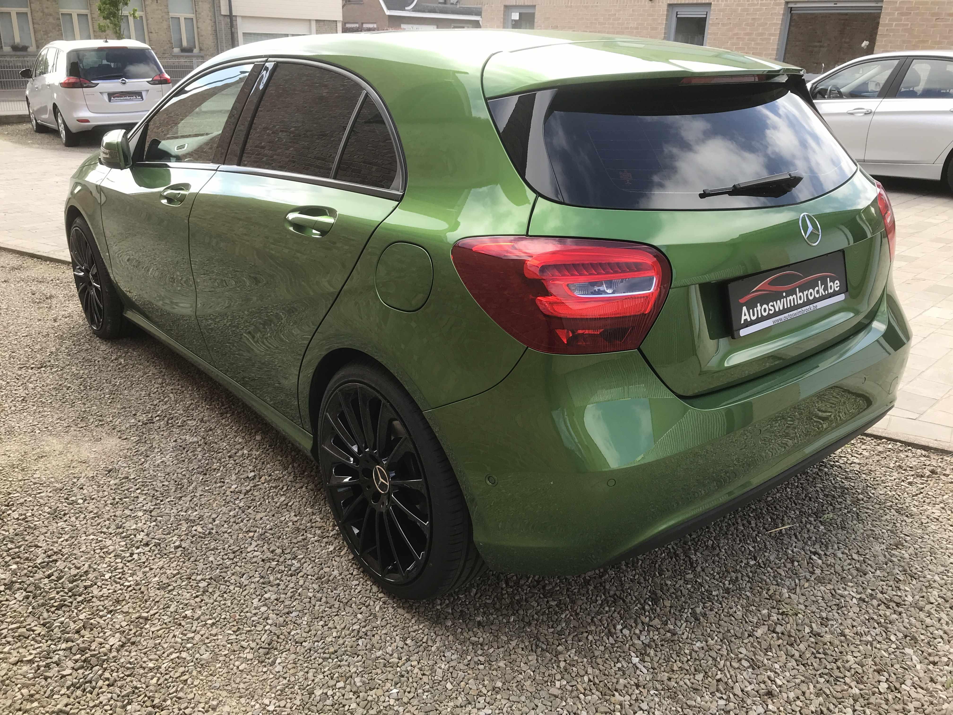 A-klasse automaat AMG groen!!