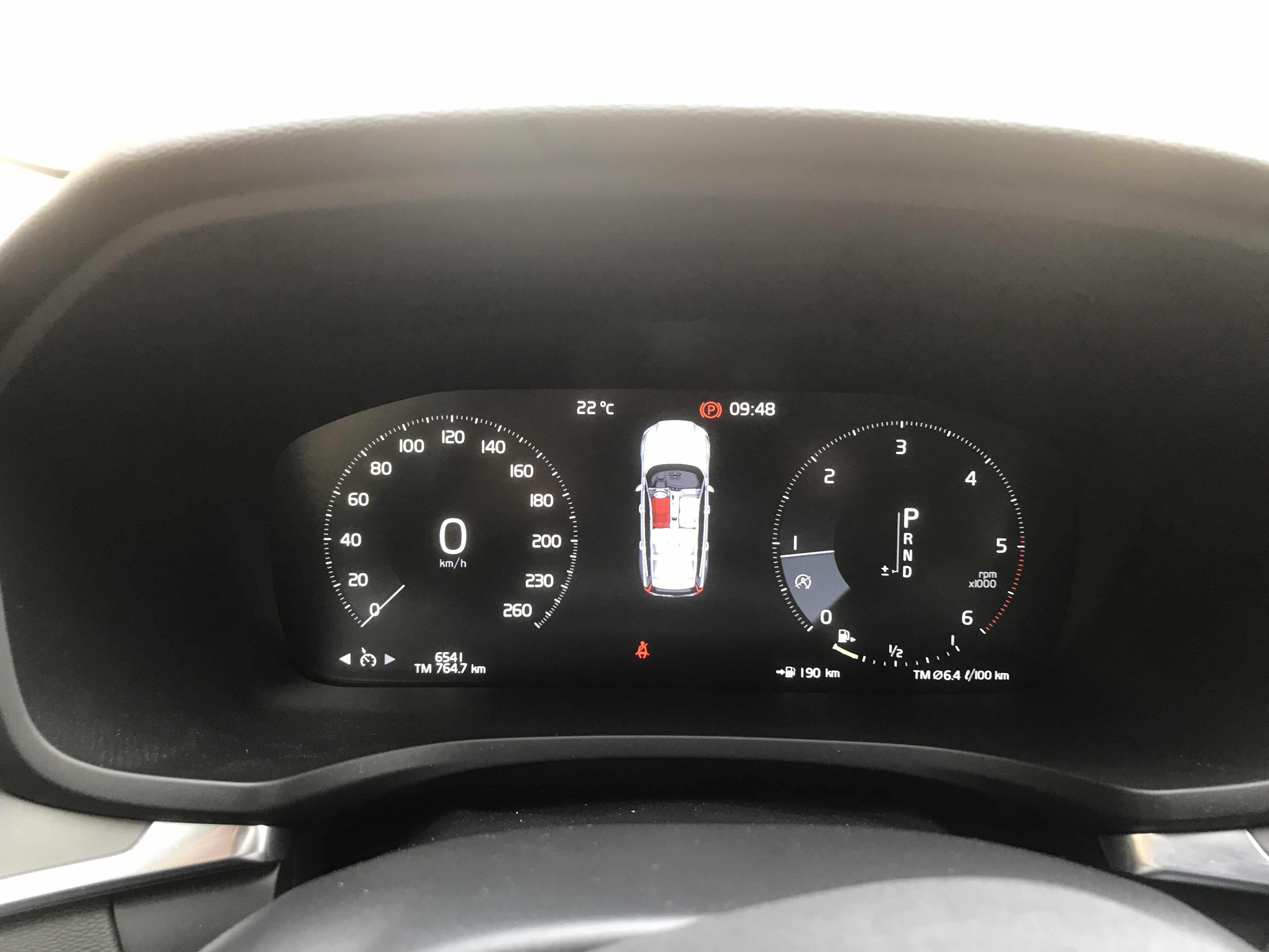 volvo V60 amper 6500km!!